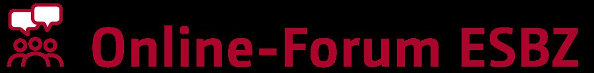 Online Forum ESBZ